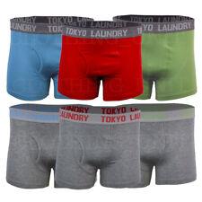 Mens Tokyo Laundry 2 Pack Boxer Shorts Cotton Rich Stretch Y Underwear S-XXL