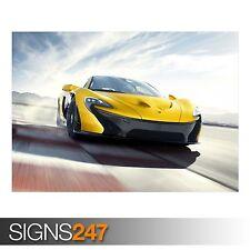 McLaren P1 Coche (AA516) cartel de auto-foto imagen arte cartel impresión A0 a A4