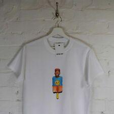Actual Fact Tyler the Creator Rap Odd Future Lollipop Hip Hop White Tee T-shirt