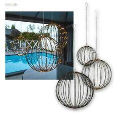 3D-Kugel Ø 50cm, Large LED Decorative Spheres 230V to the Hang IP44, Inside &