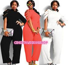 Plus Size Womens New Loose Clubwear Evening Party Jumpsuit Romper Dress Playsuit