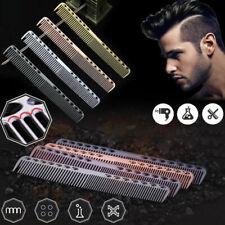 Unisex Aluminum Metal Cutting Comb Hair Hairdressing & Barbers Salon Combs Hot