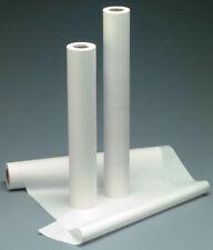 "NEW Exam Table Paper 21"" x 125' Crepe, White 12 Rolls"