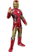 Boys Deluxe Iron Man Avengers Endgame Costume Official Boys Fancy Dress