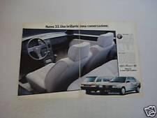 advertising Pubblicità 1987 ALFA 33 1.5 TI