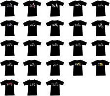 T-Shirt mit Motorrad Motiv: Suzuki Biker Fruit Of The Loom Motorcycle Teil 1