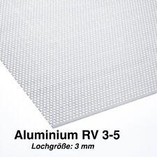 Lochblech Alu Lochgitter Aluminium 1,0 mm Stark (RV3-5) Neu KOSTENLOSER VERSAND
