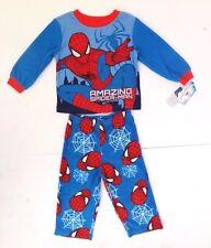 Marvel Spider-Man Boy's Toddler Flame Resistant 2 Piece Pajama Set Sizes 2T-5T