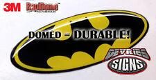 DOMED original Batman Ford emblem overlays 3M™ F-150 Super Duty & other models