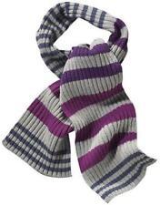 Nouveau tendance style! longue nervures écharpe en tricot 160 CM MISS petrolio violet coloré * 562323