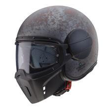 Caberg Geist Jethelm Motorrad Streetfighter Helm rostig