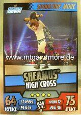 Slam Attax Rumble - Sheamus High Cross - Signature Move