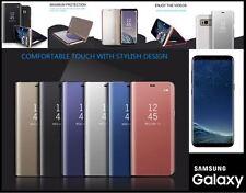 Samsung Galaxy S8 PREMIUM CON SPECCHIO SMART PLUS casi/in 5 colori/UK Venditore