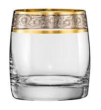Wassergläser Kristall Original Bohemia, 290 ml, 6er Set, Ideal Gold - Platin