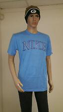 Nike Men's Blue Short Sleeve Training T-Shirt 382699-412 Brand New M Xl 2Xl