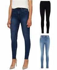 Vero Moda Skinny Slim Jeans Gu969 Blau Hose Stretch Röhrenjeans denim