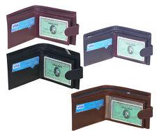 New Men Leather Wallet Billfold Purse Bifold ID Card Holder Credit Card Holder