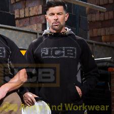 JCB Horton Hooded Mens Sweatshirt Hoody Hoodie Workwear Heavyweight Work Top