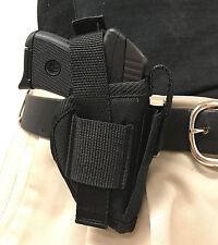 Big Dog Holsters Gun Holster fits Remington RM380 Black OWB Nylon Mag Pouch