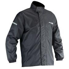 Ixon compact noir imperméable légère pluie sur veste avec sac