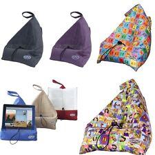 El libro bookseat, Asiento-Soporte para iPad/Tablet/Soporte de libro, Imitación Gamuza - 7 Diseños