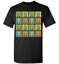 Thomas Jefferson Pop-Art T-Shirt Tee, Men's Women's Youth Tank Short Long Sleeve