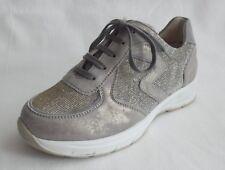 Semler Sneaker grau silber Weite K Gr. 34 (2)