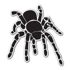 Tarantula Black Vinyl Sticker - SELECT SIZE