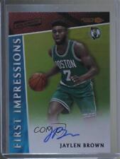 2016 Panini Aficionado 1 Jaylen Brown Boston Celtics Auto Rookie Basketball Card