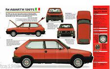 Fiat ABARTH 130TC Strada IMP Brochure: 1984,1985,1986,  130 tc
