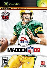 Madden NFL 09 (Microsoft Xbox, 2008)