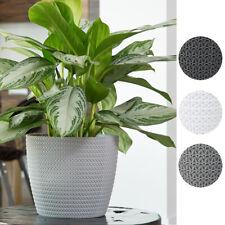Orchideentopf Blumentopf Pflanzentopf Übertopf 3 Farben 8 Größen 3D-Efekt