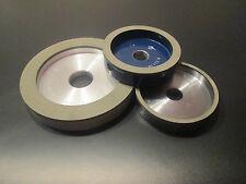 Mola Cbn / Borazon Ruota 6A2 ISO9001 Ø50 75 100 125 150mm Resina Sintetica
