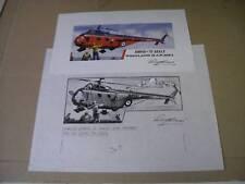 AIRFIX RN WESTLAND WHIRLWIND HAR MKI Roy croix artwork