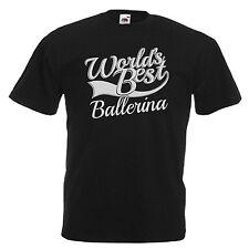 Ballerine fantaisie cadeau adultes hommes t shirt 12 couleurs taille s - 3XL