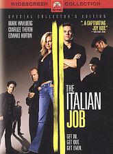 The Italian Job (DVD, 2003, Widescreen) Disc Only   17-10