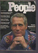 People Magazine Paul Newman October 7, 1974