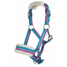 Halfter FUNNY HORSES HKM violett/aqua/silber NEU