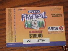 STADIO BIGLIETTO TICKET CONCERTO 12/08/2007