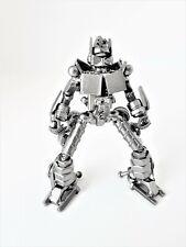 Transformers Optimus Prime Standing 15cm Silver Metal Art Productions Sculpture