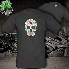 T-shirt la Catrina mexicano azúcar cráneo Skull tatuaje calavera motivo 9
