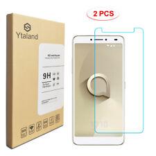 Ytaland 2X Tempered Glass Screen Protector For Alcatel 3V /3C / 1X /A3 XL /U5 HD