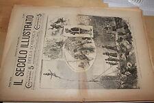 [BTR] IL SECOLO ILLUSTRATO DELLA DOMENICA 1901 589 L'INDIA A MILANO
