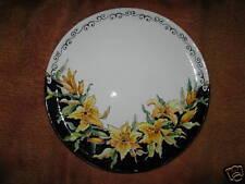 Piatto di trenta cm in ceramica dipinto a mano vo