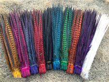 Natural pheasant tail feathers 10-100 Pcs 25 -30 cm / 10-12 inch Wholesale