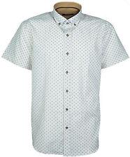 Men's Designer Italian Slim Fit Short Sleeves Casual Shirts Big Size's 2XL, 3XL