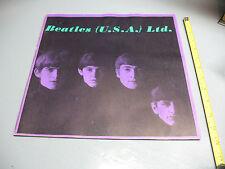 BEATLES (U.S.A.) LTD.  B & W   MAG. PHOTO BOOK 1965   12 x 12  INCHES VG COND.