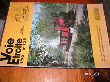 Voie Etroite n°155 25 ans train Haute Somme Baie Somme