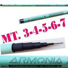canna fissa metri 3-4-5-6-7 in carbonio da punta pesca mare lago fiume