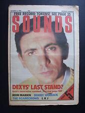 SOUNDS OCT 12 1985 KEVIN ROWLAND BOBBY WOMACK IRON MAIDEN LINTON KWESI JOHNSON